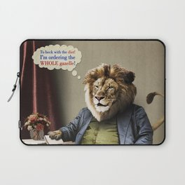 Hungry Lion Laptop Sleeve