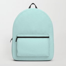 Solid Color Series - Cyanish White Backpack