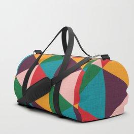 Triangle pattern Duffle Bag