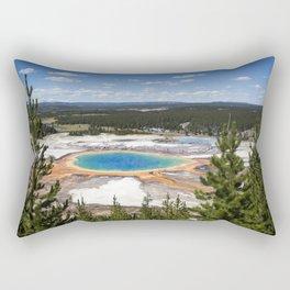 grand prismatic spring Rectangular Pillow