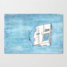 Tsunami House Canvas Print