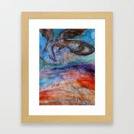 Beware of Dragon Framed Art Print