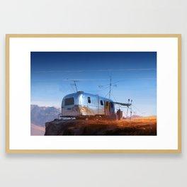 Desert Outpost Framed Art Print