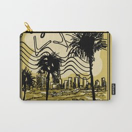 Los Angeles Stamp Carry-All Pouch