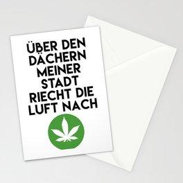 PALMEN AUS PLASTIK - Marihuana 187 Lyrics Stationery Cards