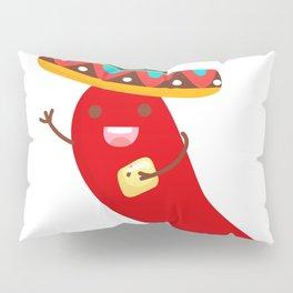 Cinco De Mayo Pepper Design Pillow Sham