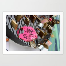 Wynwood Locks Art Print