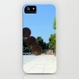 Tel Aviv photo - Habima Square - Israel iPhone Case