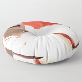 SquaRed: Hell Year Floor Pillow