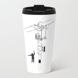 Tokyo Electric Pole Metal Travel Mug