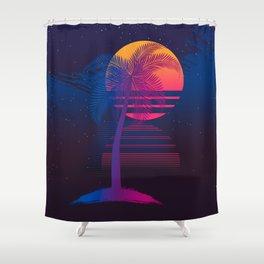 Sunset Dreams Shower Curtain