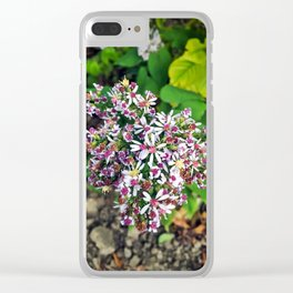 September Flowers Clear iPhone Case