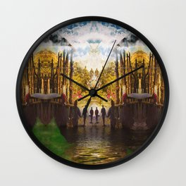 The Journey's Entrance Wall Clock