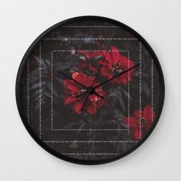 Romans 8:1-13 Wall Clock