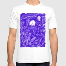 EL CAPITAN White Mens Fitted Tee SMALL