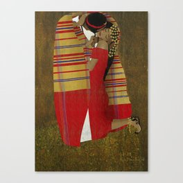 "Al Bousa ""The Kiss"" Canvas Print"