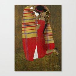 "Al Bousa ""The Kiss"" Canvas Print"