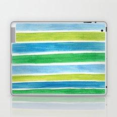 Sea Stripes Laptop & iPad Skin