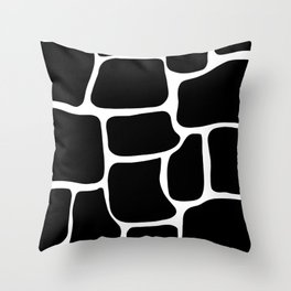 giraffe printed Throw Pillow