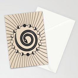 The Snake Origin  Stationery Cards