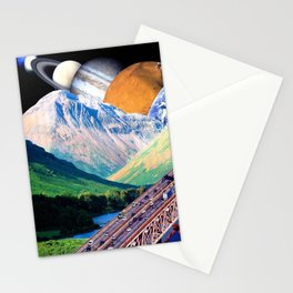 On the Mountain Way Stationery Cards