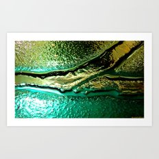 Microscopic part 1 Art Print