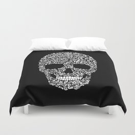 Inverse Skull Duvet Cover