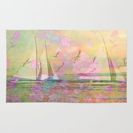 Sailboat Flyby Rug