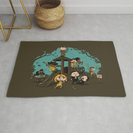 Quentin's Square Rug
