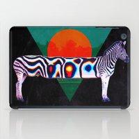 zebra iPad Cases featuring Zebra by Ali GULEC