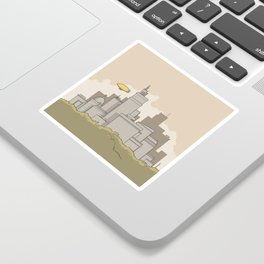 City #2 Sticker