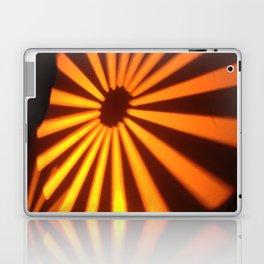 Orange Lines at the ground Laptop & iPad Skin