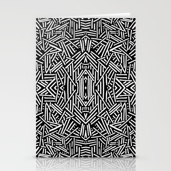 Radiate (BW) Stationery Cards