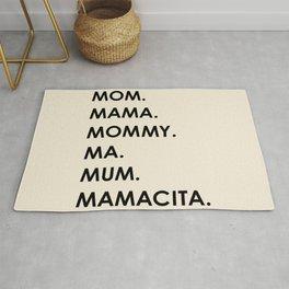 MOM black Rug