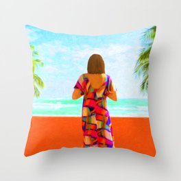 Shall I Compare Thee To A Summer's Day? Throw Pillow
