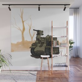 Priest_(WWII COMBAT VEHICLES (USA) Wall Mural
