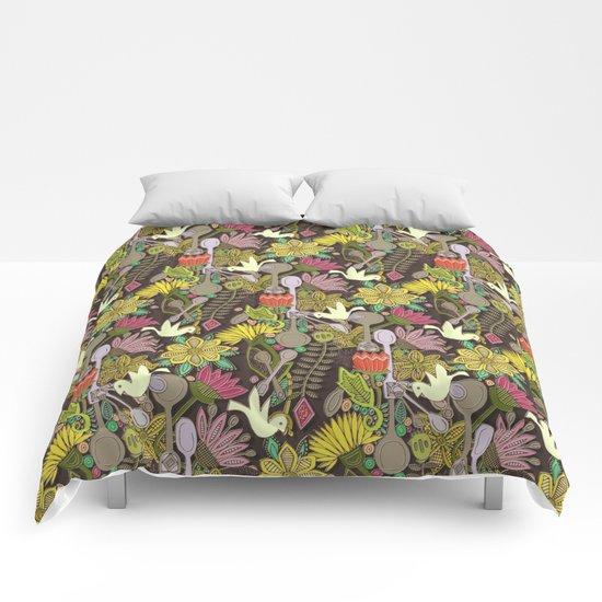 dove spoon garden Comforters