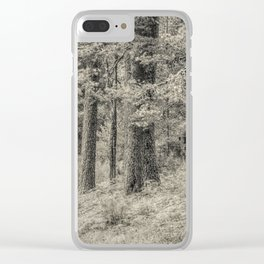 In the forest #5 Clear iPhone Case