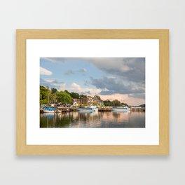 Evening on Lake Windermere Framed Art Print