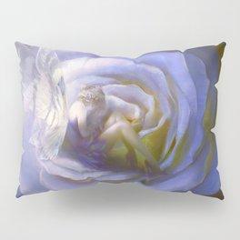 Fairy in the purple rose: fairytale fantasy - Look closer... Pillow Sham