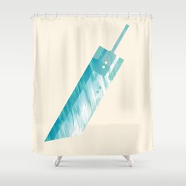 Final Fantasy VII Shower Curtain