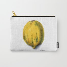 Yellow Papaya Carry-All Pouch