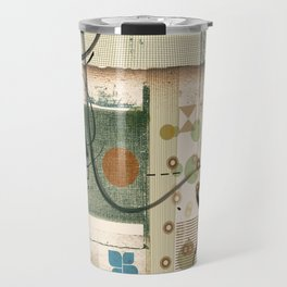 Abstract Exceptions Travel Mug
