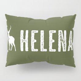 Deer: Helena, Montana Pillow Sham