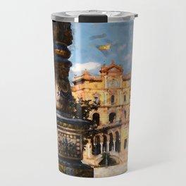 Plaza de Espana, Seville Travel Mug