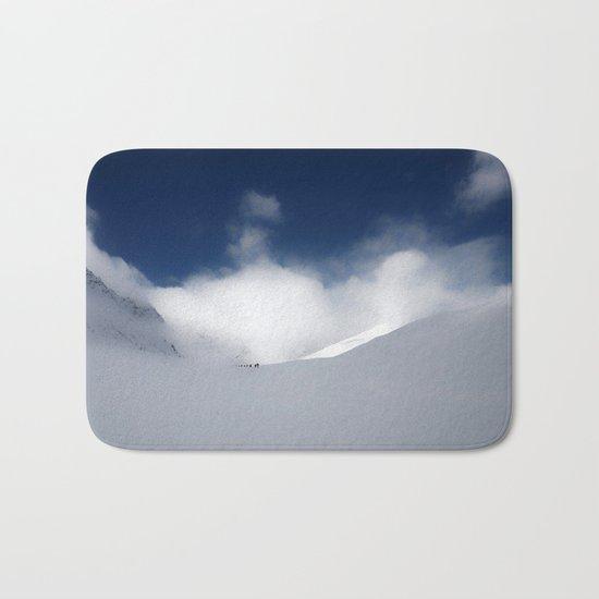 White Mountain Winter Bath Mat