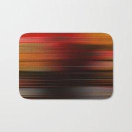 """Abstract Autumn Porstroke (Pattern)"" Bath Mat"