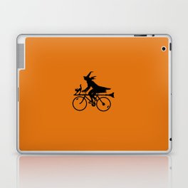 Witch on a Bicycle Laptop & iPad Skin