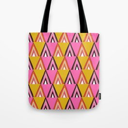 arcadia, mid-century inspired pattern Tote Bag