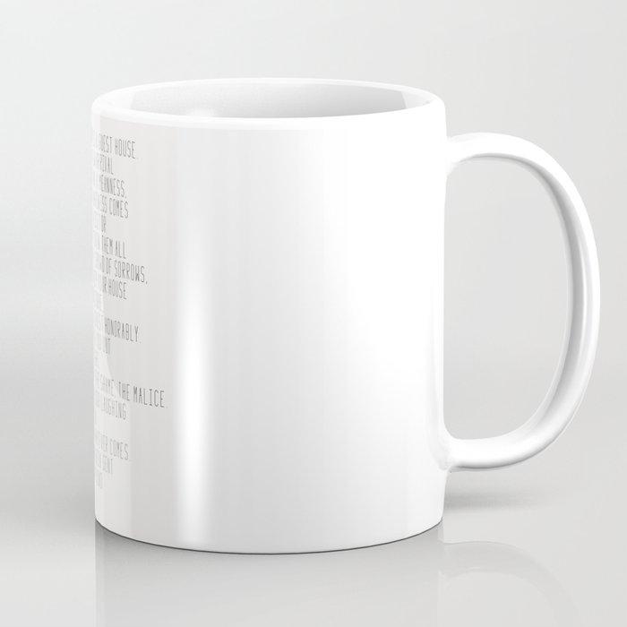 The Guest House #poem #inspirational Coffee Mug
